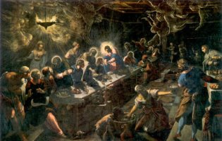 Tintoretto, The Last Supper, 1594